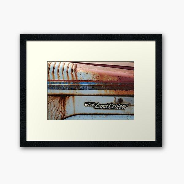 LandCruiser Framed Art Print