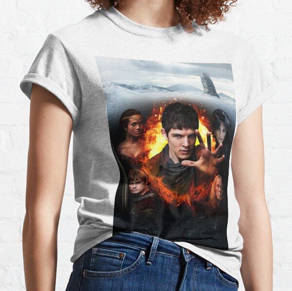 Merlin Cast - Season 5 Classic T-Shirt