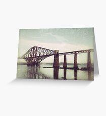 Forth Rail Bridge Greeting Card