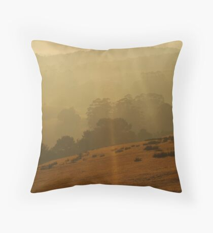 Otway Ranges Light Throw Pillow