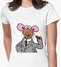 Rizzo the Rat Muppets Fanart Portrait JTownsend Women's Fitted T-Shirt