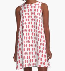human kidneys pattern A-Line Dress