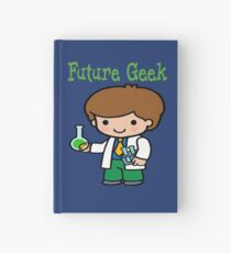 Cute Future Geek Gifts Hardcover Journal