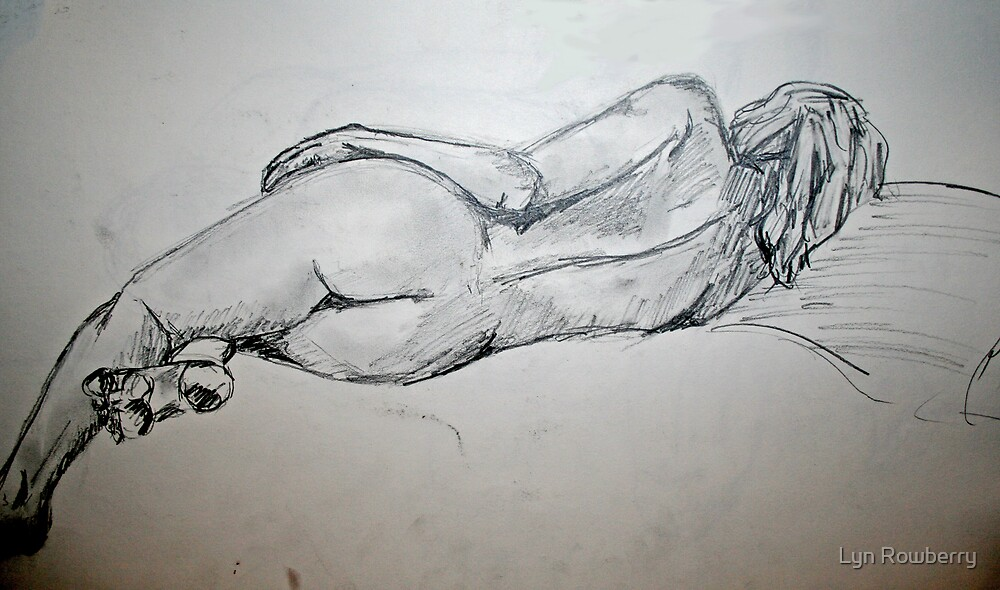 Nude 1 by Lyn Rowberry