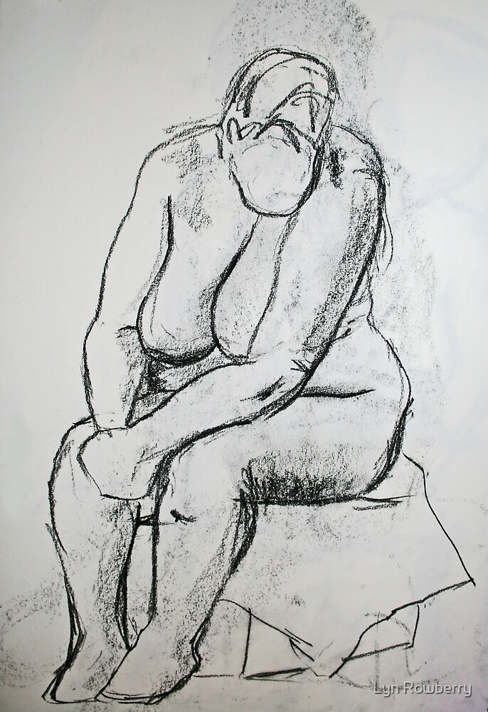 Nude 4 by Lyn Rowberry