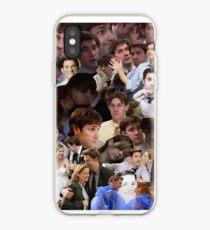 Vinilo o funda para iPhone Jim Halpert Collage (+ Pam)