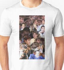 Jim Halpert Collage (+ Pam) Unisex T-Shirt
