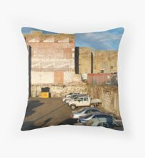 Behind the City Shops,Geelong Throw Pillow