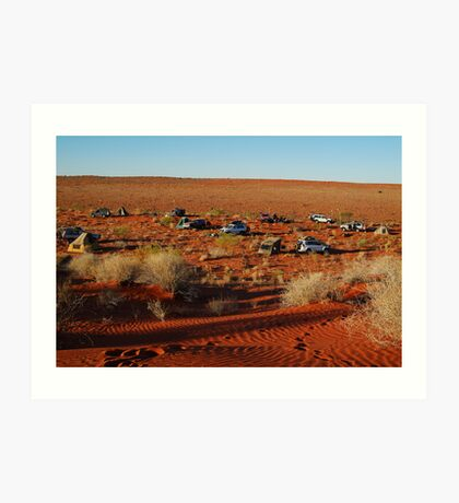 Simpson Desert Adventure,N.T. Art Print