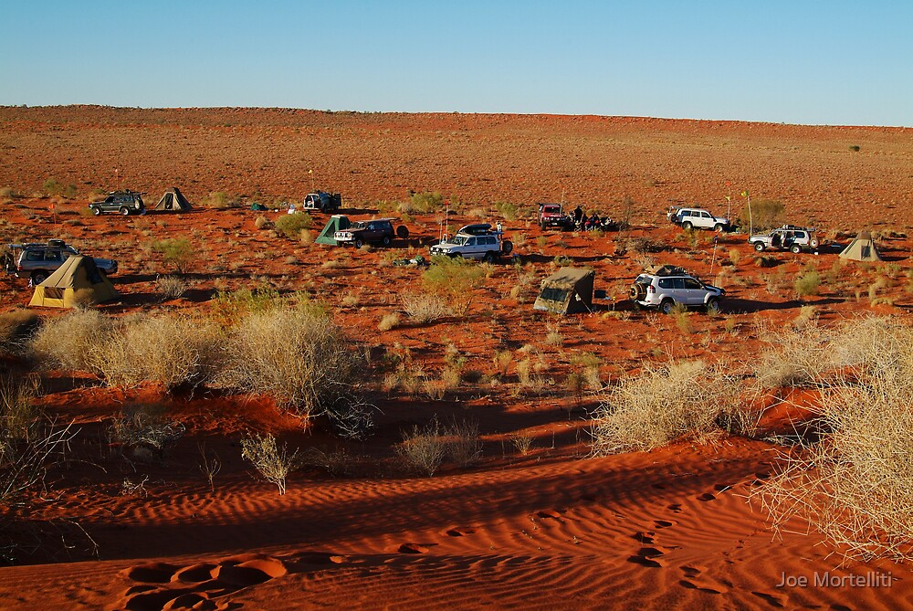 Simpson Desert Adventure,N.T. by Joe Mortelliti