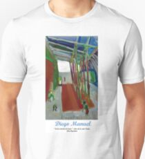 In the train station. Unisex T-Shirt