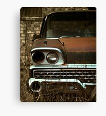 Abandoned 1959 Ford Galaxie 500 Canvas Print
