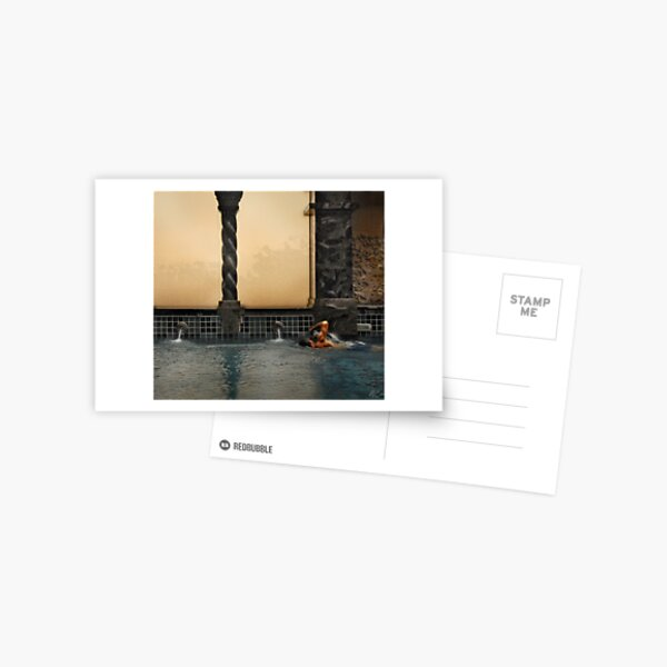The Swimmer Postcard