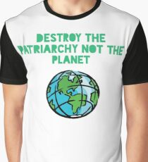 Destroy Patriarchy Graphic T-Shirt