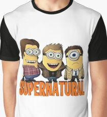 Funny Supernatural Minions  Graphic T-Shirt