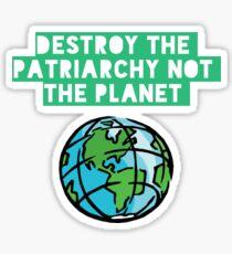Pegatina Destruir el patriarcado
