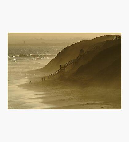 Walk the Dogs 13th Beach Photographic Print