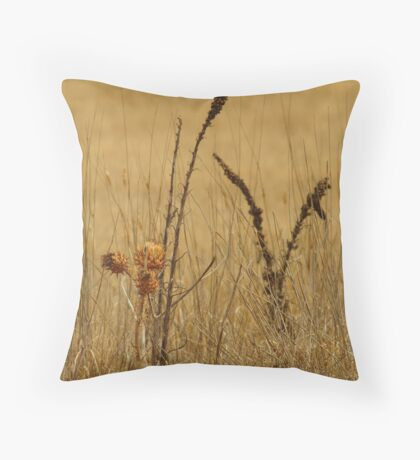 Thistle,Geelong District Throw Pillow