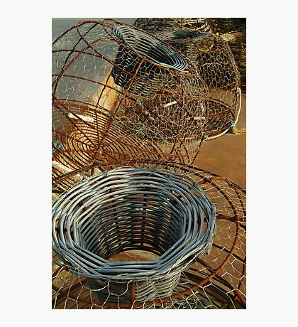 Cray Pots,Apollo Bay Photographic Print