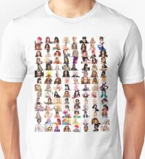 Checklist - Rupaul's Drag Race Queens  Unisex T-Shirt