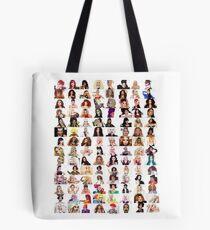 Checklist - Rupaul's Drag Race Queens  Tote Bag