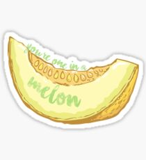 One in a Melon Sticker