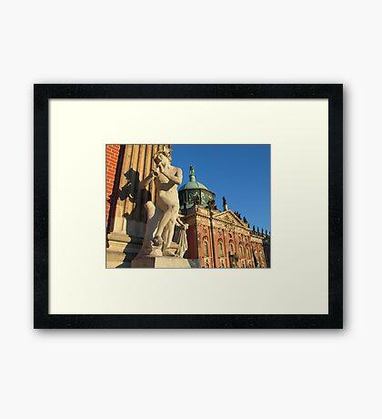 The Piper Framed Print