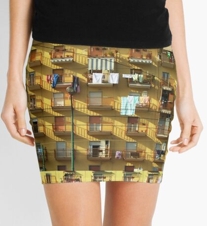 Birds on a wire Mini Skirt