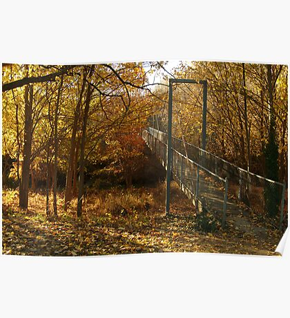 Autumn Walk Clunes Poster
