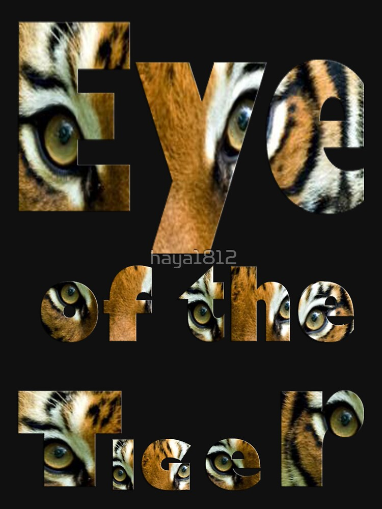 Eye of the tiger- Art + Products Design  by haya1812