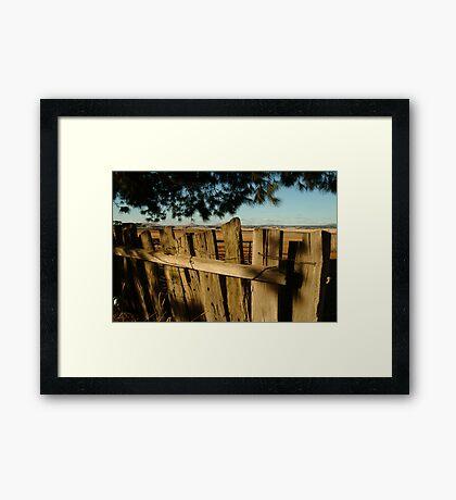 Ascot Farm Lands Framed Print