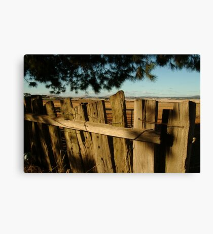 Ascot Farm Lands Canvas Print