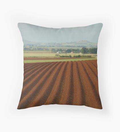 View to Seven Hills of Smeaton Throw Pillow
