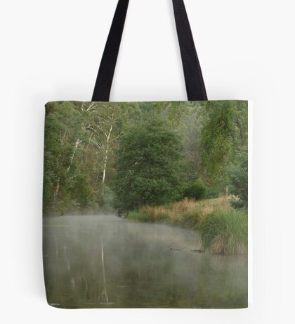 Morning Mist Crooked River High Country Tote Bag