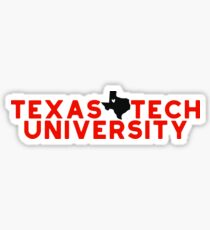 Texas Tech University - Style 19 Sticker