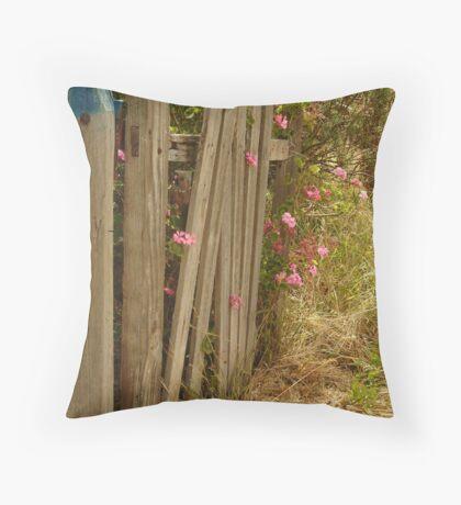 Garden Gateway,Batesford Throw Pillow