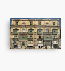 Building in Valletta Malta Metal Print