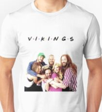 vikings friends Unisex T-Shirt