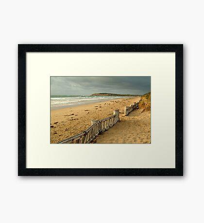 Early Morning Raaf's Beach Framed Print