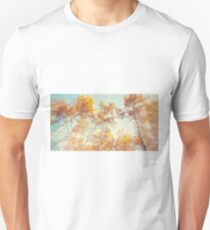 Glowing Autumn Aspens Unisex T-Shirt
