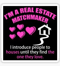 Real Estate Matchmaker Sticker