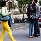 French Kiss - Paris by Norman Repacholi