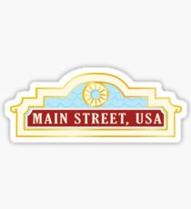 Main Street Sticker