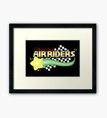 Checker Knight ☆ Air Riders Framed Print