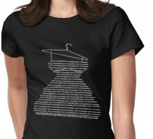 you'r so beautiful to me- Art + Products Design  Womens Fitted T-Shirt