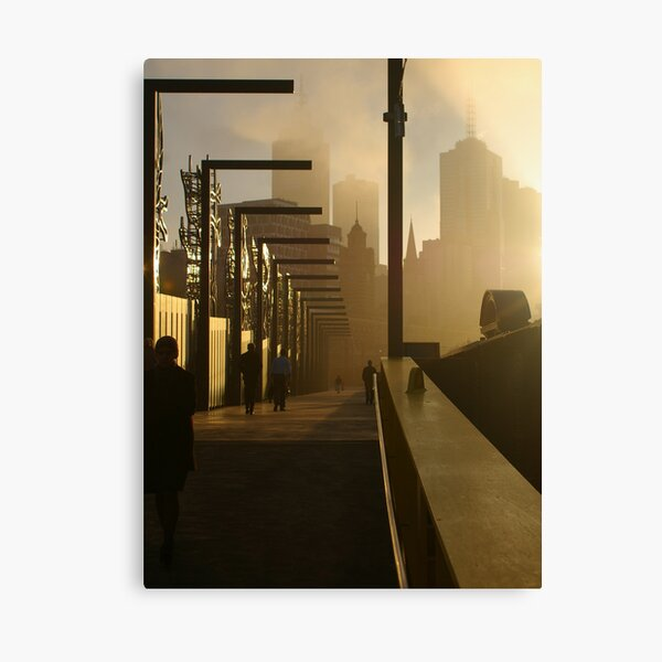 The Streets of Melbourne Canvas Print