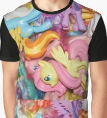 LOTS of ponies Graphic T-Shirt