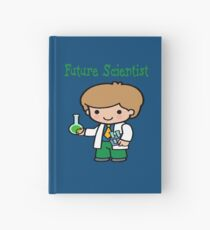 Cute Future Scientist Gifts Hardcover Journal