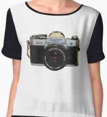 Film Camera Chiffon Top