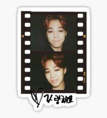 Pegatina Etiqueta engomada de Jimin BTS I Love You